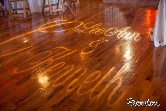 LeeAnn's wedding Boulder Springs floor bogo