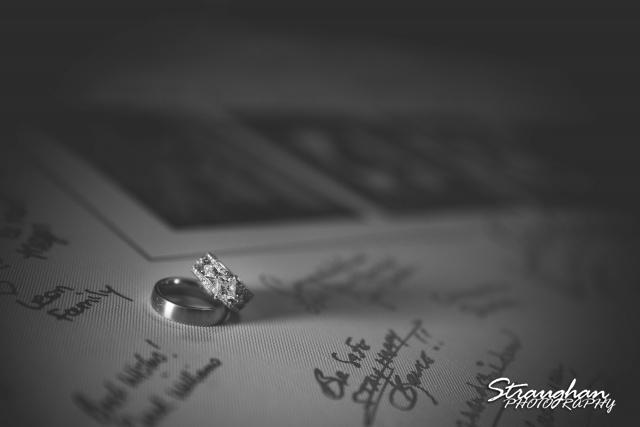 LeeAnn's wedding Boulder Springs the rings