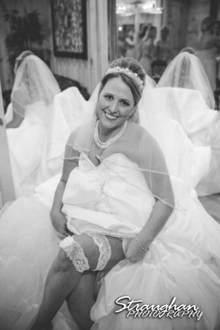 LeeAnn's wedding Boulder Springs with garter