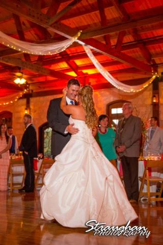 LeeAnn's wedding Boulder Springs 1st dance