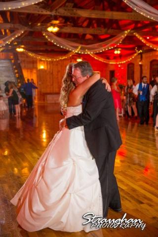 LeeAnn's wedding Boulder Springs father daughter dance