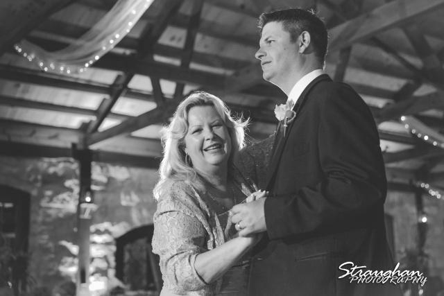 LeeAnn's wedding Boulder Springs mother son dance