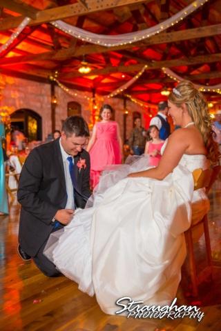 LeeAnn's wedding Boulder Springs garter