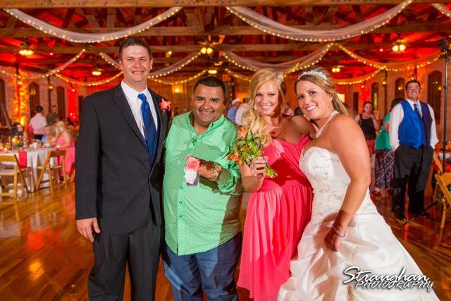 LeeAnn's wedding Boulder Springs toss winners