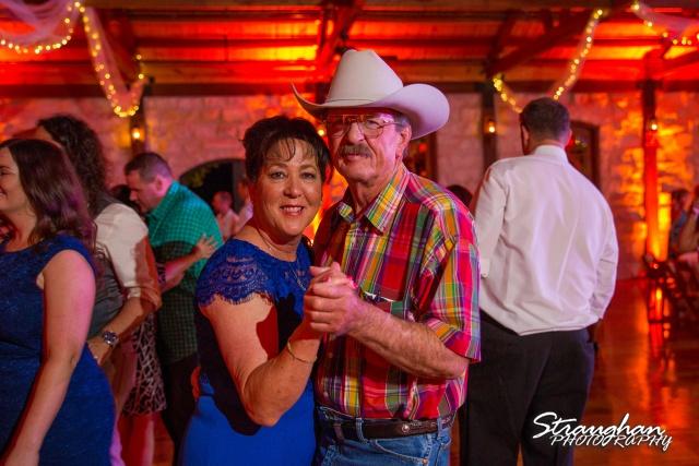 LeeAnn's wedding Boulder Springs parents dancing