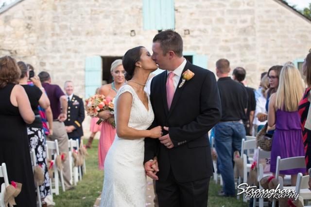 1850 Settlement wedding kiss Lauren