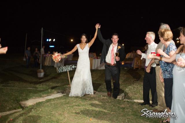 Lauren's exit 1850 Settlement wedding