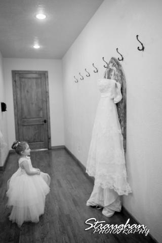 Logan's wedding Bella Springs Boerne TX the dress