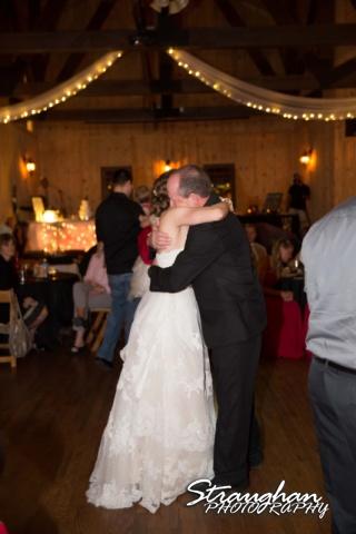 Logan's wedding Bella Springs Boerne TX father dance