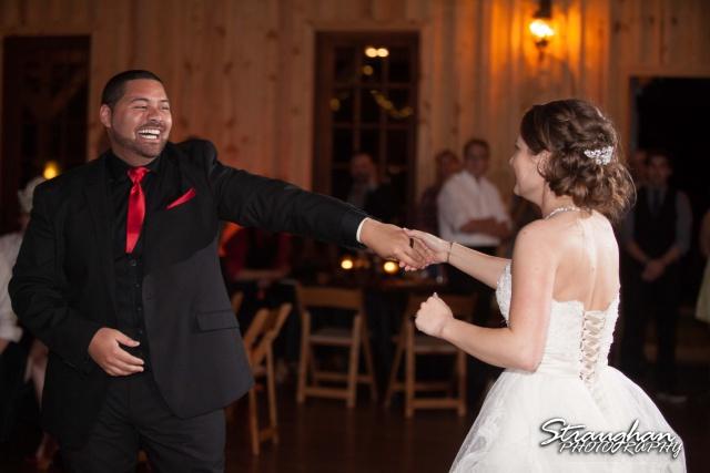 Logan's wedding Bella Springs Boerne TX last dance