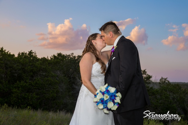 Lacey wedding Boulder Springs Legacy Hall couple at sunset