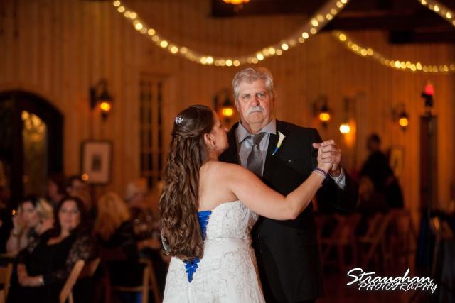 Lacey wedding Boulder Springs Legacy Hall daddy danc