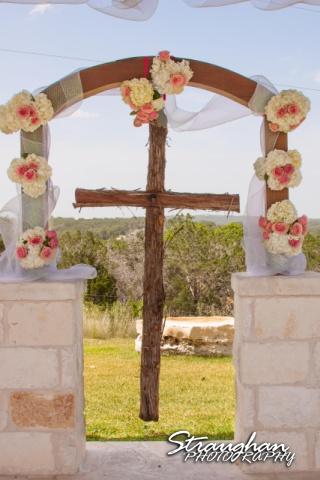 Kelly wedding Boulder springs cross