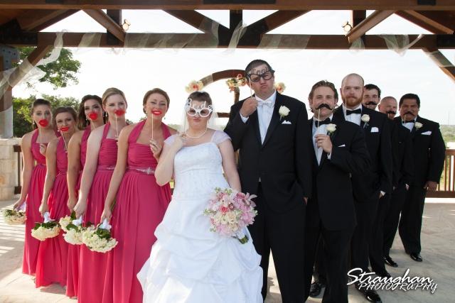 Kelly wedding Boulder springs bridal party