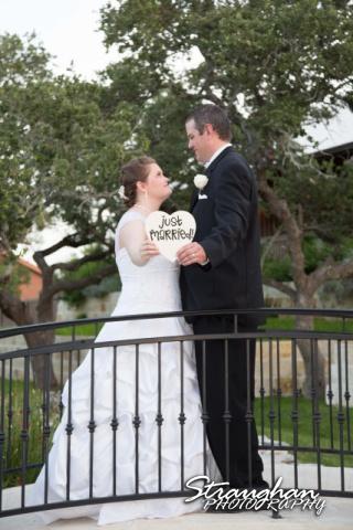 Kelly wedding Boulder springs just married full
