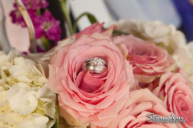 Kelly wedding Boulder springs rings
