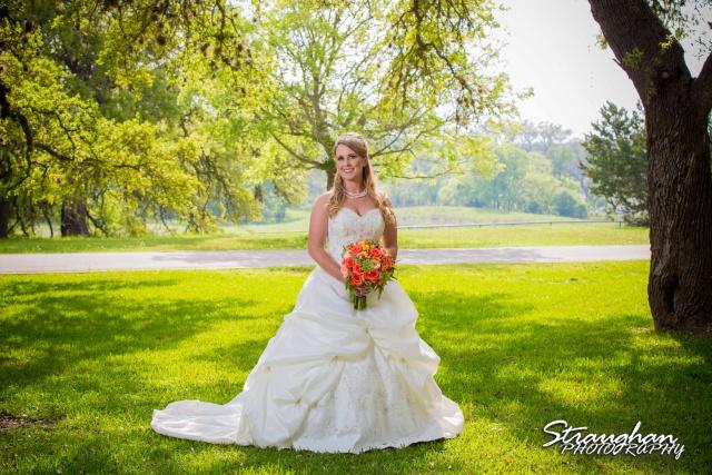 LeeAnn's bridal Castle Avalon outside leg full length