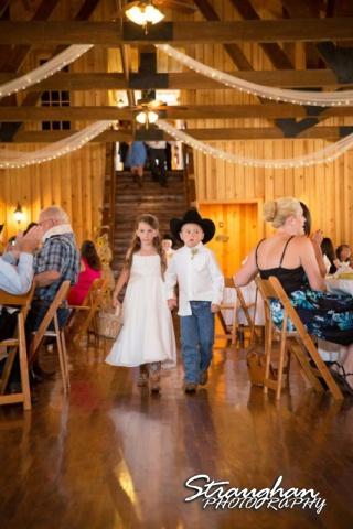 Lindsey Wedding, Boulder Springs kids intro
