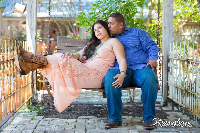 Lori and Joe's Engagement Shoot at Gruene, TX