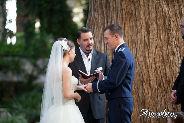 Laura wedding Hotel Contessa ring exchange
