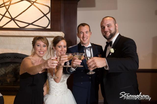Laura wedding Hotel Contessa toasts