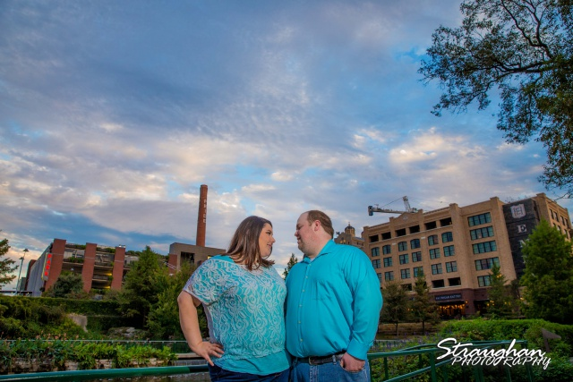 Cara engagement at the Pearl by the river