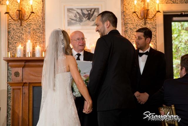 Michelle wedding Houston Ousie's ceremony