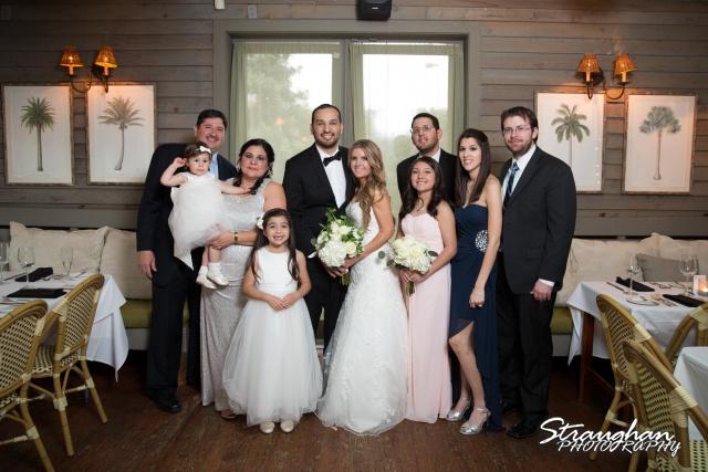Michelle wedding Houston Ousie's family photo
