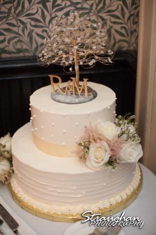 Michelle wedding Houston Ousie's cake