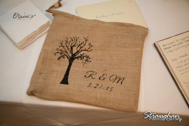 Michelle wedding Houston Ousie's card bag