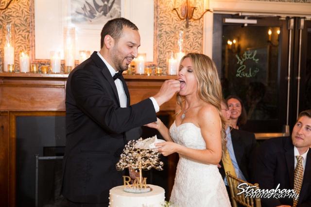 Michelle wedding Houston Ousie's cake feding