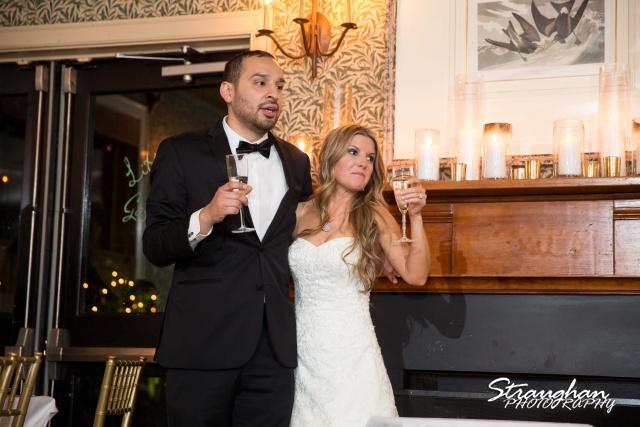 Michelle wedding Houston Ousie's toasts
