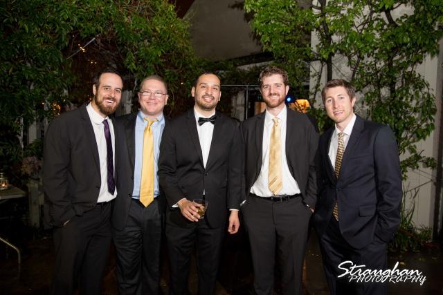 Michelle wedding Houston Ousie's the guys