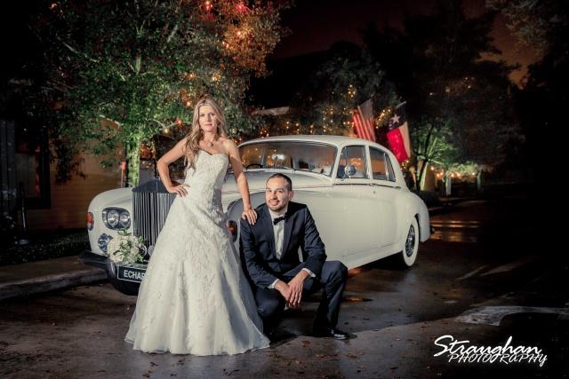 Michelle wedding Houston Ousie's car photo