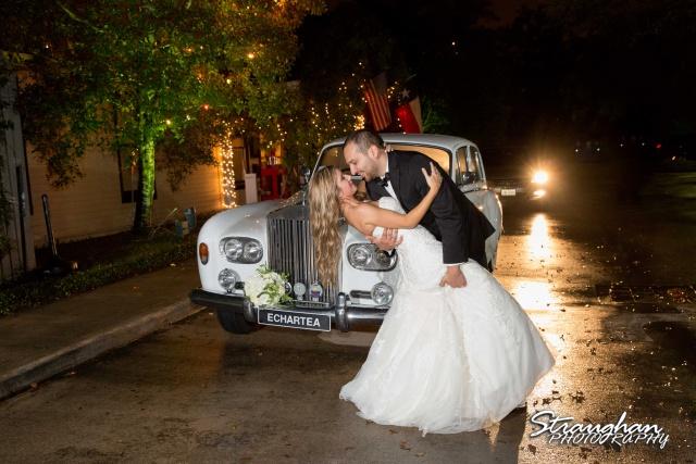 Michelle wedding Houston Ousie's car ip
