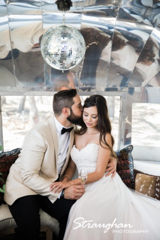 Park 31 styled shoot airstream inside