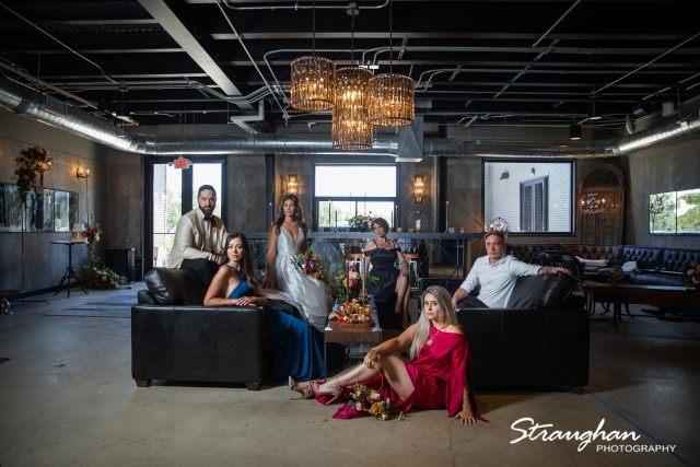 Park 31 styled shoot party in the bar