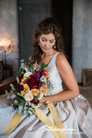 Park 31 styled shoot bride and flowers