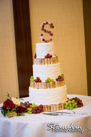 Kurt wedding riverwalk Hyatt cake
