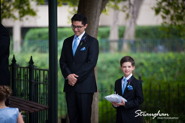Rebecca wedding Southwest School the guys