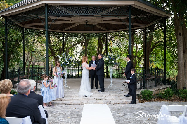 Rebecca wedding Southwest School  the gazebo