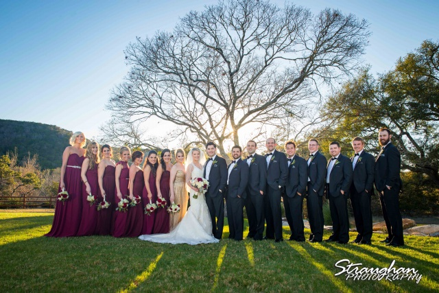 Sarah Higley wedding Bella Springs bridal party