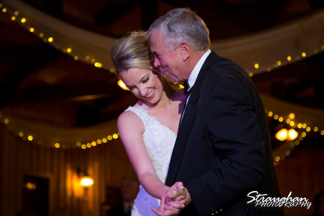 Sarah Higley wedding Bella Springs father daughter dance