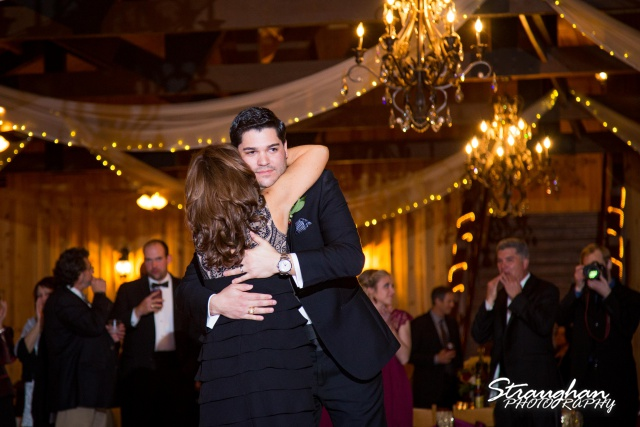 Sarah Higley wedding Bella Springs mother son dance