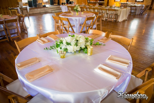 The Springs in New Braunfels at Stonehaven Hall table