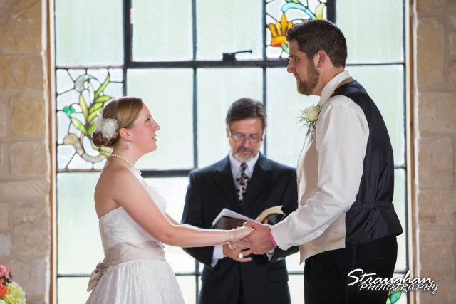 Sarah and Ryan Faithville wedding vows
