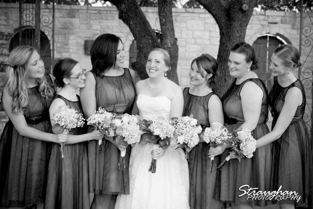 Sarah and Ryan Faithville wedding bridesmaids