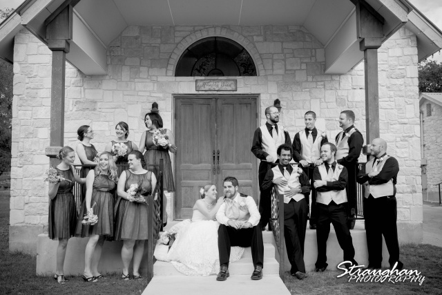 Sarah and Ryan Faithville wedding Bridal Party