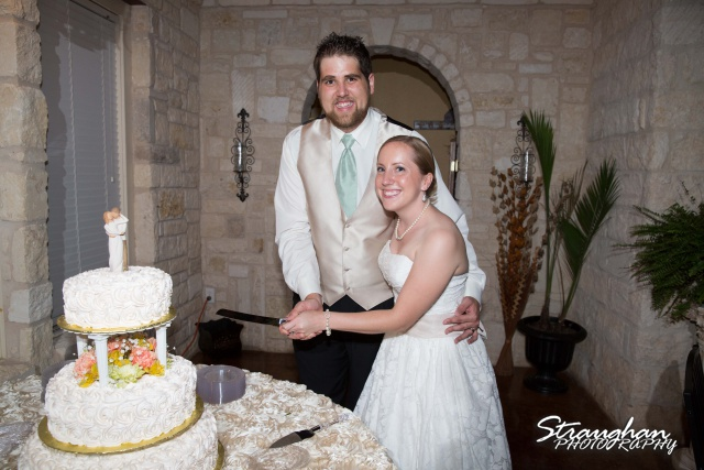 Sarah and Ryan Faithville wedding cake