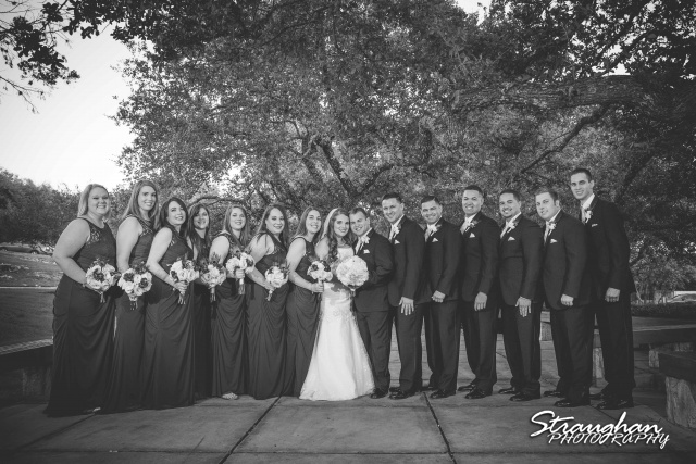 Stephanie wedding Holy Trinity Church bridal party